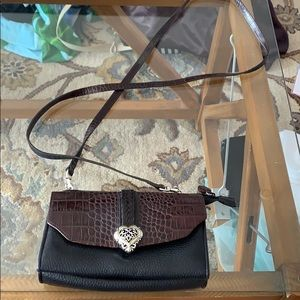 Brighton purse with long strap